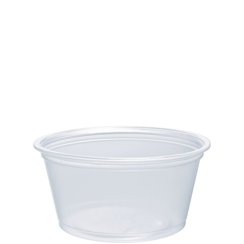 2 OZ PP PORTION CONTAINER