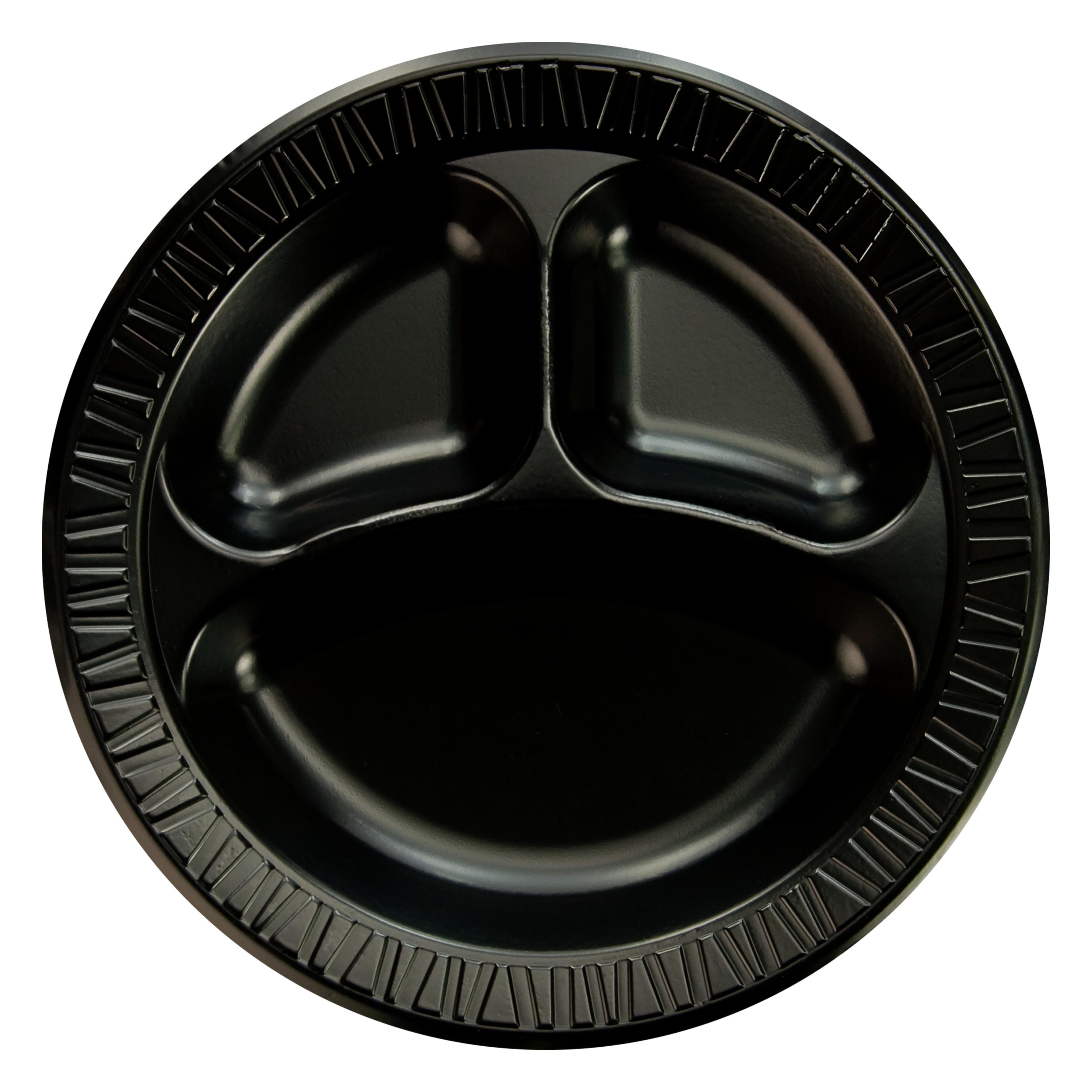 10 IN CMP LAMINATE PLATE BLACK 4/125