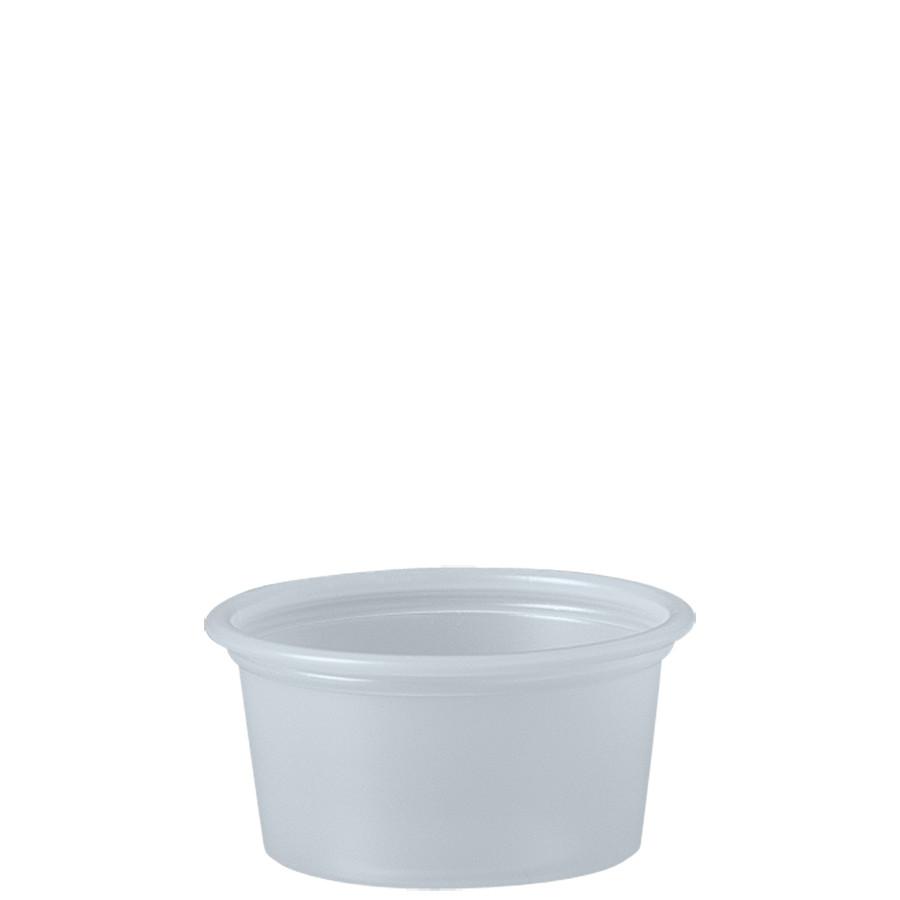 0.75 OZ PLASTIC SQUAT SOUFFLE -TRNSLCNT
